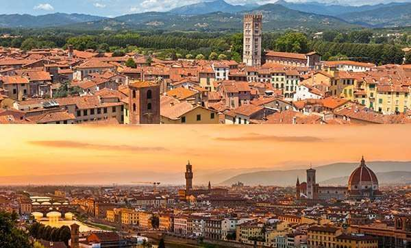 Lucca and Florence Tour