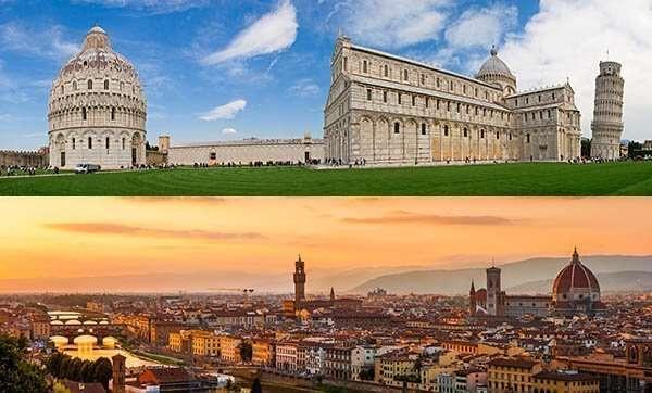 Pisa 6 Florence Tour