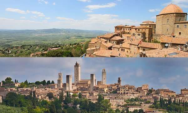 Volterra and Sangimignano Tour
